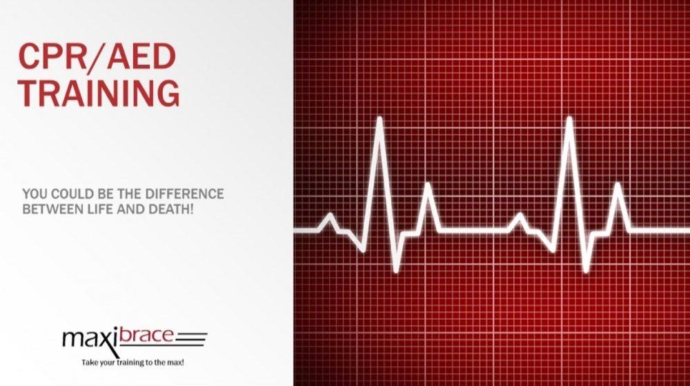 maxibrace.com cpr aed training 516.484.0055